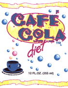 Cafe Cola Diet Coffee Soda